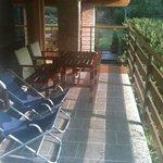 La terrazza privata