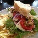 Mufuletta sandwich