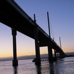 Kessock bridge at Inverness location of our otter run