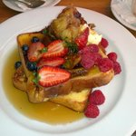 Breakfast in the restaurant- large portions good $$
