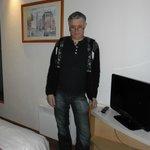 Vanilla hotel room