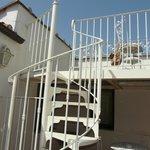 Лестница на террасе