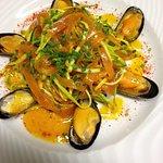 Salade de moules de bouchot