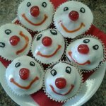 Red Nose Day smile cakes