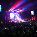 tijdens het concert