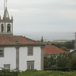 View beuond house and church to the coast