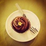 Cupcake banana e cioccolato.