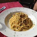 """Spaghetti con """"masenete"""""""