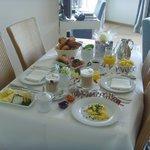 Frühstück auf dem Zimmer - empfehlenswert