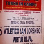 san lorenzo - locandina squadra di calcio del quartiere