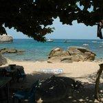 Ao Tamote beach, small but pretty!