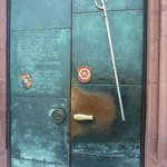 Entrance door (there are far more better window photos than mine)