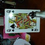 my table card!!!