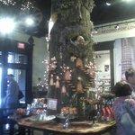 Tree made of chocolate