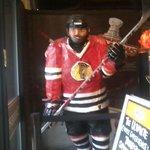 Chocolate hockey player