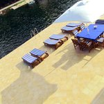 Largest private swimming & sunbathing area in Korcula