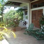 Apt 1 wide veranda
