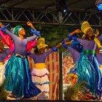 Tobago folk dancers