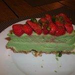 Pistache-fraises