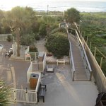 Carolina Beach - Courtyard Marriott - beach access