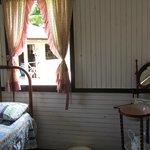 Um dos quartos históricos
