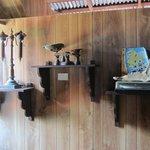 Antigos objetos da ilha
