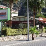 Hotel and adjoining restaurant