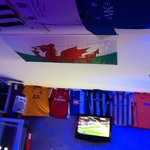 My welsh flag donation to Central