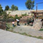 Zona exterior - parque infantil