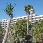 hotel Gorriones vanaf de zee gezien