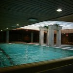 The swimming pool in the Hotel