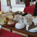 Le plateau de fromage est fabuleux