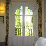 beautiful window in room