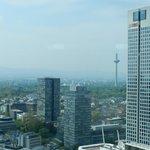 Frankfurt vista do quarto