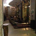 Lobby of the Felix Hotel next door