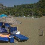 Dalyan beach via boat taxi