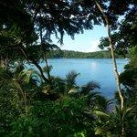 Sicht vom Bungalow