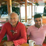 On the board of m/s Deligth with Orhan