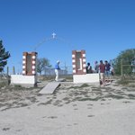 Entrance to Wounded Knee Memorial