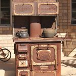 Great old iron stove