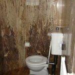 sub-terranean toilet room