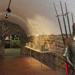 """This """"Gewölbe"""" room leads to other rooms of the castle"""