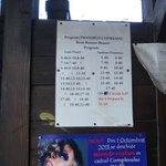 The bus schedule from Bran to Brasov