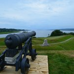 View of the River Front at Fort Anne National Historic Site, Annapolis, NS