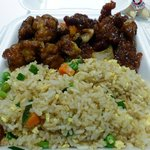 Plate Entree at Panda Express