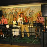 Live music at the evening time (Lindenwird, Wine Garden)