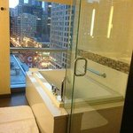 Bathroom with Spa tub (Chicago Theater View)
