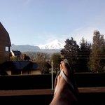 vista janela - vulcão