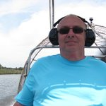 On the airboat