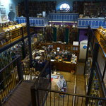 Leakey's - a former church converted to a second hand bookstore / cafe / gallery